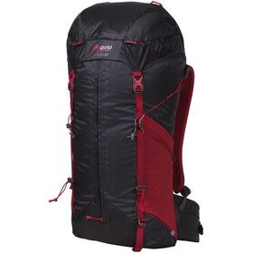 Bergans Helium 40 Backpack Women Solid Charcoal/Red